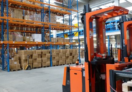 Centre logistique e-commerce Ronadis